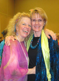 With Donna Eden, Graduation from Eden Energy Medicine, Jan. 2013